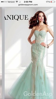 My junior prom dress :)