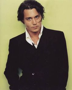 johnny Depp in your second date