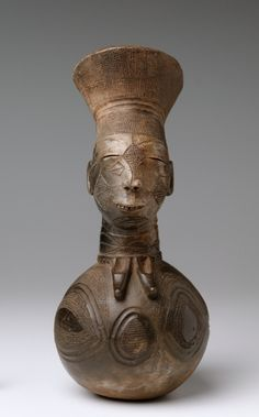 Vessel, early 1900s                                                Central Africa, Democratic Republic of the Congo, Mangbetu , early 20th century