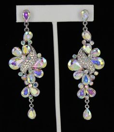 pageant earrings S-AB