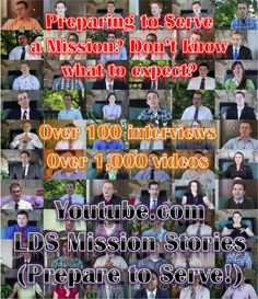 preparing to serve a mission? want to know your area better? There is no better place you can go online to have so many different mission return missionaries who are talking about their experiences!