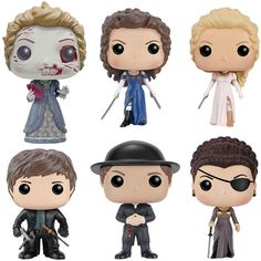 Pride and Prejudice and Zombies Pop Vinyl Figures