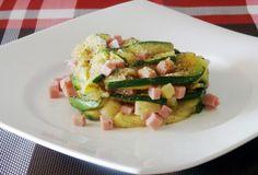 Millefoglie di Zucchine con Cotto ed Emmental