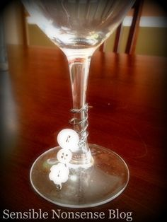 button wine charms