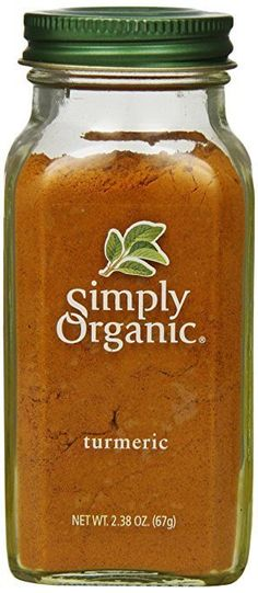 Simply Organic Turmeric Root Ground Certified Organic, Container [Grocery] - Most Popular Vegan Recipes! Turmeric Spice, Turmeric Root, Organic Turmeric, Tumeric Face, Turmeric Drink, Turmeric Recipes, Ground Turmeric, Homemade Dog Treats, Homemade Skin Care