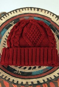 everyone needs a little red beanie $14.99
