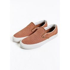 e3728fba77e Vans Classic Slip-On Sneaker ( 55) ❤ liked on Polyvore featuring men s  fashion