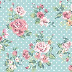 Papel de Parede Autocolante - Floral 2013