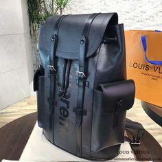711fec470da3 Louis Vuitton x Supreme Christopher Backpack PM M53413 Epi Leather