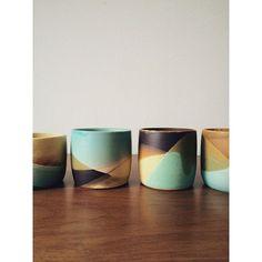 "139 Likes, 38 Comments - Gina Zycher (@glittermountain) on Instagram: ""#pottery #ceramics #handmade"""