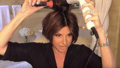 Revlon Hair Dryer Brush, Youtube Hair Tutorials, Short Hair Cuts, Short Hair Styles, Dominique Sachse, Best Hair Dryer, Haircuts For Fine Hair, Beach Hair, Hair Videos