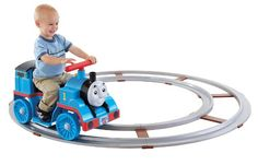 Best Toys For 2 Year Old Boy - Christmas 2015 Gift Guide  His very own Thomas the Train with a track! OMG! <3  #besttoys