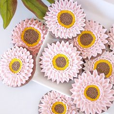 Gerbera Daisy Cookie