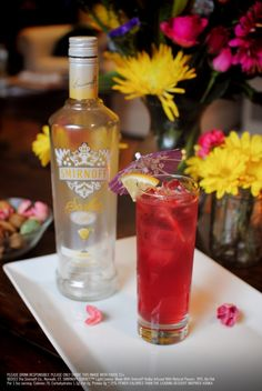 Lemon Pomegranate Punch Drink Recipe: 1.5 oz SMIRNOFF SORBET™ Light Lemon, 2.5 oz diet lemon-lime soda, 1.5 oz pomegranate juice. In an ice-filled cocktail shaker, add all the ingredients, shake and pour into a collins glass. Garnish with a lemon wedge. #Smirnoff #vodka #drinkrecipe #lemon #spring by earline