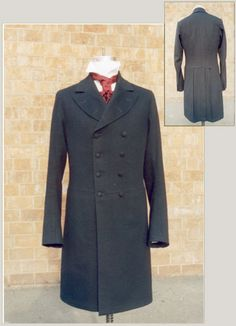 Prince Albert Double Breasted Frock Coat