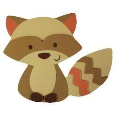 Raccoon Printable for Forest Nursery