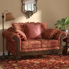 Powersville Standard Loveseat by Fleur De Lis Living – ShopWixer Furniture Styles, Sofa Furniture, Rustic Furniture, Living Room Furniture, French Furniture, Furniture Websites, Furniture Movers, Magenta, Leggett And Platt