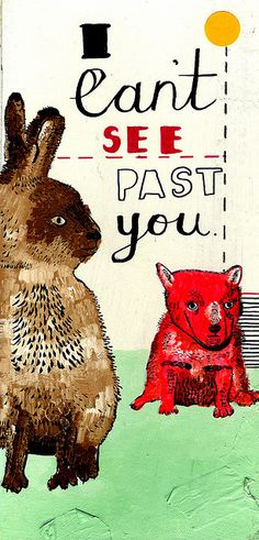 Julia Pott. I can't see past you