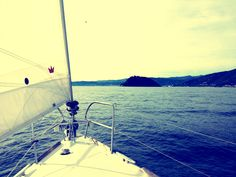 Sweet winter sailing with sailsquare crew!