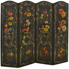 French Dressing Screen, Late 18th C | From a unique collection of antique and modern screens at http://www.1stdibs.com/furniture/more-furniture-collectibles/screens/