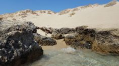 Falassarna - Crete: the dunes next to the beach #trivo