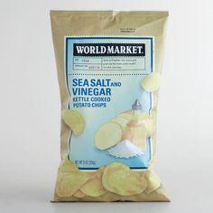 One of my favorite discoveries at WorldMarket.com: World Market® Sea Salt and Vinegar Chips