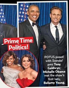 """"""" Both Flotus' and Potus' in US Weekly! Scandal Tv Series, Scandal Abc, Scandal Season 4, Olivia And Fitz, Scandal Quotes, Tony Goldwyn, Fight The Power, Mr President, Olivia Pope"""