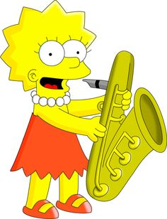 """I love Lisa Simpson from """"The Simpsons""""!"""