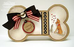 Dogbone . . Just cannot Help but Love these Cards for Critters!!!