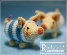 Amigurumi pig #crochet