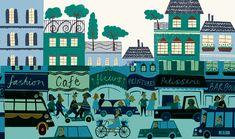 Rachael Saunders, illustrator, at The Artworks Illustration Agency