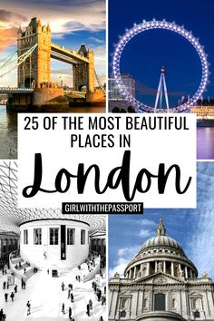 London Attractions, London Landmarks, London England Travel, London Travel, Beautiful Places To Travel, Cool Places To Visit, London Photography, Travel Photography, Edinburgh Travel