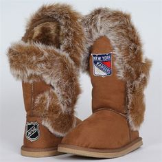 New York Rangers Ladies The Fanatic Boots!