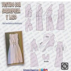 No automatic alt text available. Coat Patterns, Dress Sewing Patterns, Sewing Patterns Free, Sewing Tutorials, Clothing Patterns, Bodice Pattern, Jacket Pattern, Diy Y Manualidades, Fashion Design Portfolio