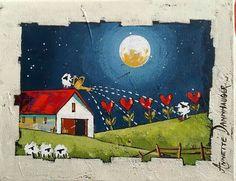 Acrylic Canvas, Acrylic Paintings, Oil Paintings, Landscape Paintings, Canvas Art, South Africa Art, African Colors, Art Houses, South African Artists
