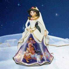 bradford exchange porcelain disney princess bells - Jasmine