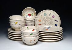 Emily Free Wilson ceramics, pottery, for sale at MudFire Gallery for clay