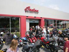 Indian Motorcycle SP é a primeira loja da Indian no Brasil (Foto: Divulgação)