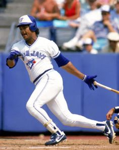 George Bell of the Toronto Blue Jays swings at a pitch during a 1987 game at Exposition Stadium in Toronto Ontario Canada Blue Jay Way, Mlb American League, Hockey, Mlb Teams, Tampa Bay Rays, Toronto Blue Jays, Sports Baseball, Baltimore Orioles, New York Yankees