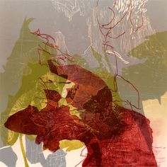Joyce Silverstone, Sacrifice Decision,  relief print with monotype additions