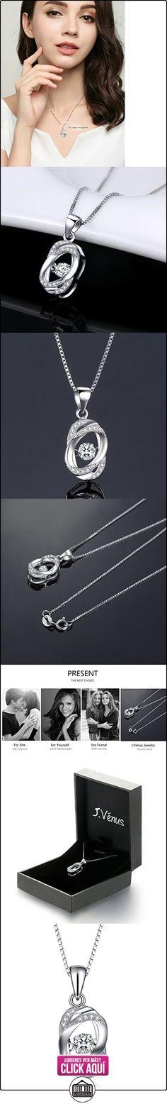 """J.venus Mujer Joyeria """"Nunca separados"""" Collares, 45cm, regalo ideal el día de San Valentín, cumpleaños  ✿ Joyas para mujer - Las mejores ofertas ✿ ▬► Ver oferta: http://comprar.io/goto/B01JYVMFSK"""