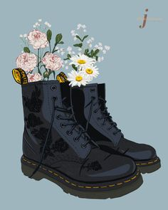 Currently my two favorite things. my rose embroidered Dr. Aesthetic Images, Red Aesthetic, Aesthetic Backgrounds, Aesthetic Anime, Aesthetic Wallpapers, Tableau Pop Art, Dr. Martens, Recycled Art Projects, Art Hoe