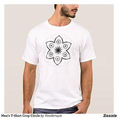 Men's T-Shirt Crop Circle