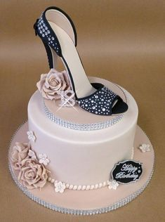 Sparkly Sugar Shoe By Lorraine Yarnold High Heel Cakes 18th