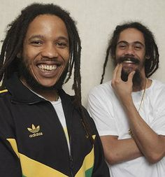 Stephen and Damian Marley