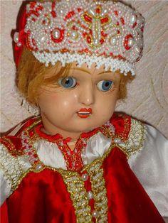 Традиционная одежда для Дуняши / Винтажные антикварные куклы, реплики / Бэйбики. Куклы фото. Одежда для кукол