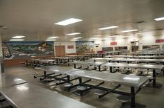 Inmate Dining Room at PDC-South Facility