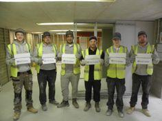 British Gypsum apprentices at the Erith Academy are #BuildingBritain
