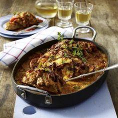 Zigeuner Schnitzel aus dem Ofen Rezept