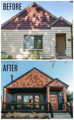 Boise Boys HGTV Modern Craftsman Before and After